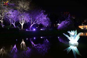 月津港燈節 | 台南鹽水新景點!月光之城化身浪漫小鎮