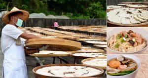 台南關廟麵何上口麵,傳承三代溫度的日曬麵