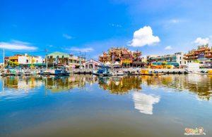七股潟湖 坐船遊潟湖!台南生態與親子旅遊景點推薦!